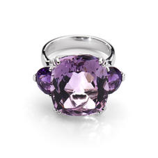 Ophelia Amethyst Cocktail Ring
