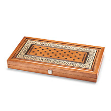 "22"" Wooden Backgammon Set"