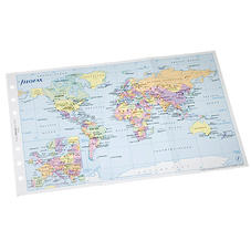 Bijou Organiser World Map Insert