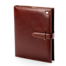 Large Executive Organiser in Smooth Cognac