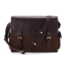 Large Shadow Messenger in Brown Nubuck