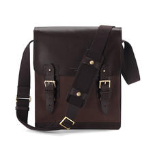Small Shadow Messenger in Brown Nubuck