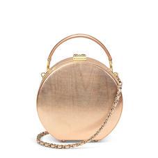 Giles x Aspinal (Mini Hat Box - Rose Gold Moiré)