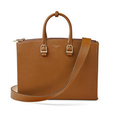Madison Tote in Smooth Tan