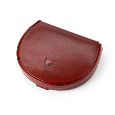 Horseshoe Coin Holder in Smooth Cognac