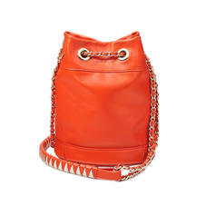 Duffle Bag in Smooth Orange