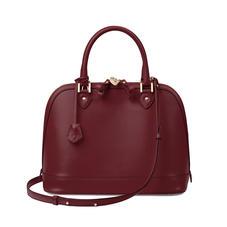 Hepburn Bag in Smooth Burgundy