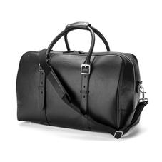 Large Harrison Weekender Travel Bag in Smooth Black
