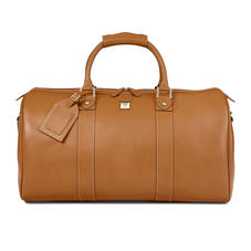 Boston Travel Bag in Smooth Tan