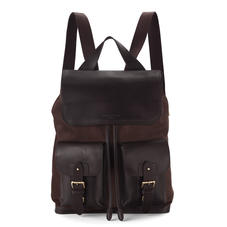 Shadow Rucksack in Brown Nubuck