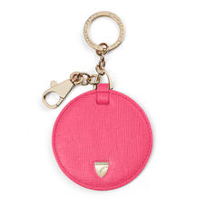 Leather Disc Keyring
