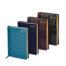 A6 Day to Page Leather Diaries