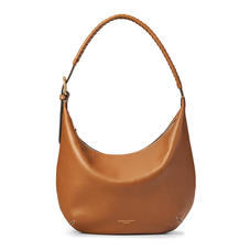 Equestrian Hobo in Smooth Tan