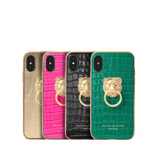 Lion iPhone Xs Leather Cases & Covers