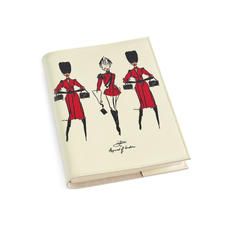 Guard Girls A5 Refillable Notebook in Ivory Saffiano
