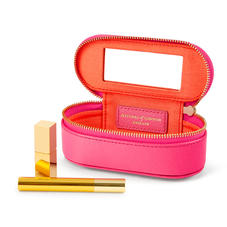 Handbag Tidy All in Bright Pink Saffiano