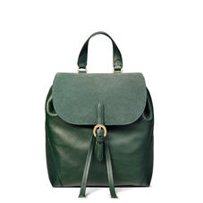 Equestrian Backpack in Smooth Evergreen