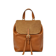 Equestrian Backpack in Smooth Tan