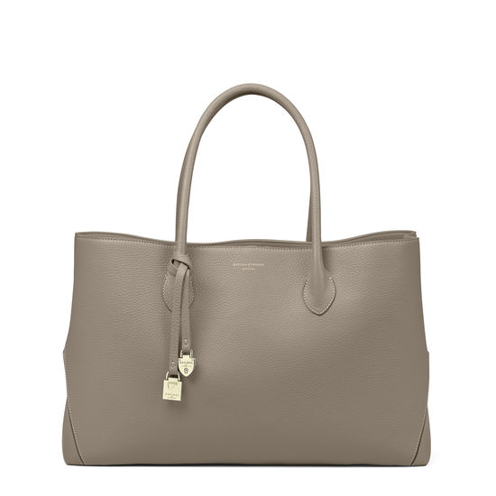 warm grey bag
