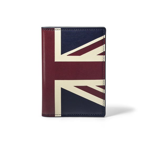 Brit Double Fold Credit Card Holder from Aspinal of London