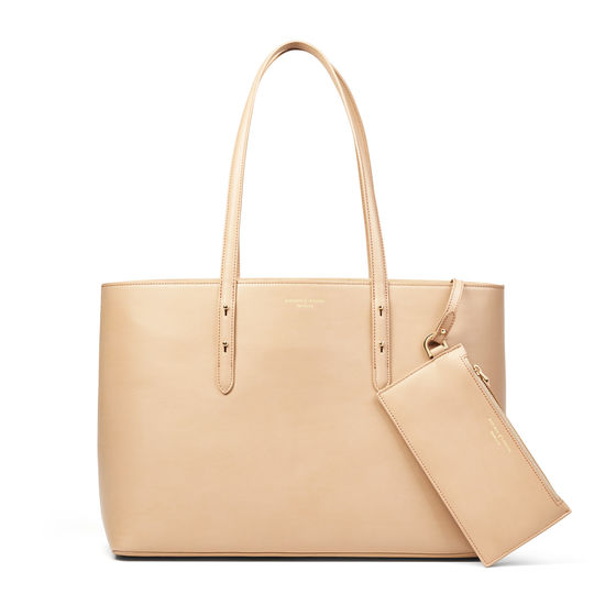 Regent Tote in Smooth Deer from Aspinal of London