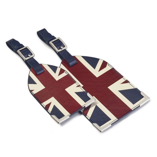 Brit Set of 2 Luggage Tags from Aspinal of London