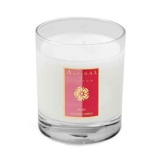 Rose Scented Candle from Aspinal of London
