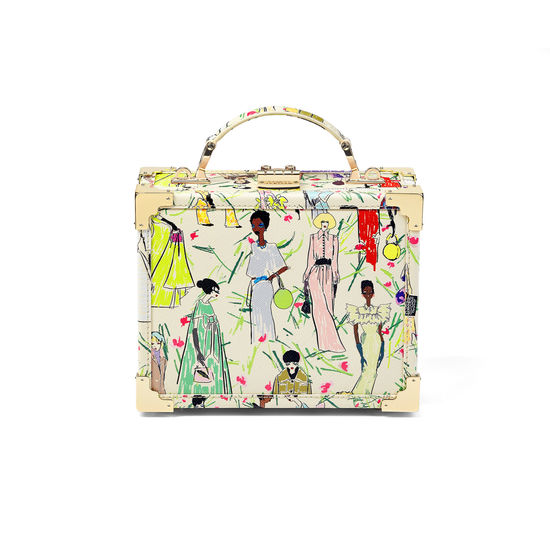 Giles x Aspinal (Mini Trunk - Girls Print) from Aspinal of London