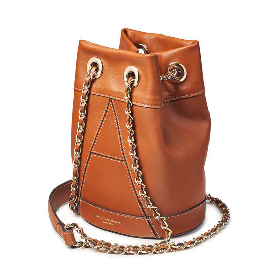 Origami Duffle Bag in Smooth Tan from Aspinal of London