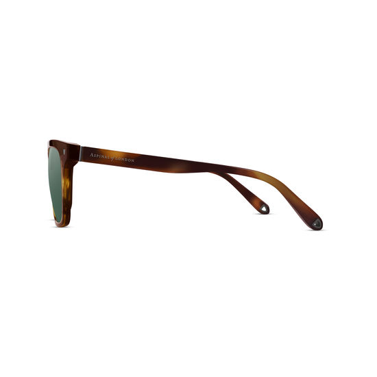 St. Raphael Sunglasses in Tiger Eye Acetate from Aspinal of London