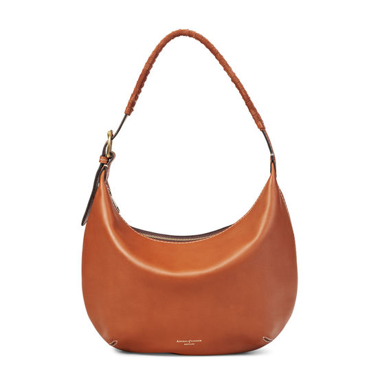 Alice Hobo in Smooth Tan from Aspinal of London