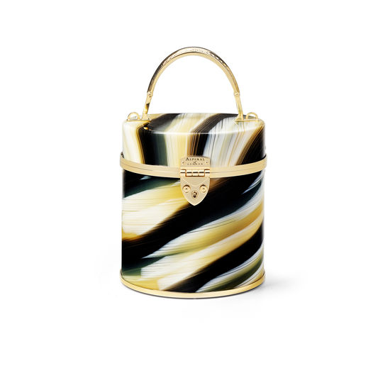 Pandora Bag in Marble Plexiglass from Aspinal of London