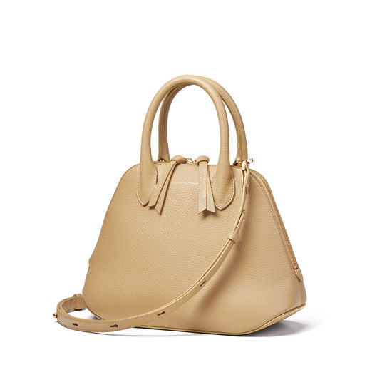 Margot Bag in Sand Pebble from Aspinal of London