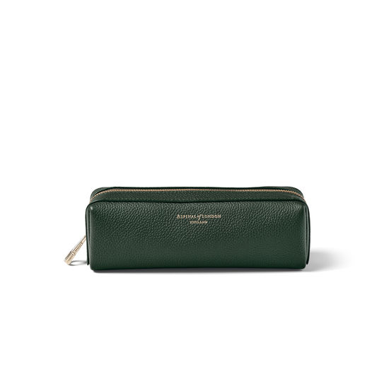 Small London Case in Evergreen Pebble from Aspinal of London
