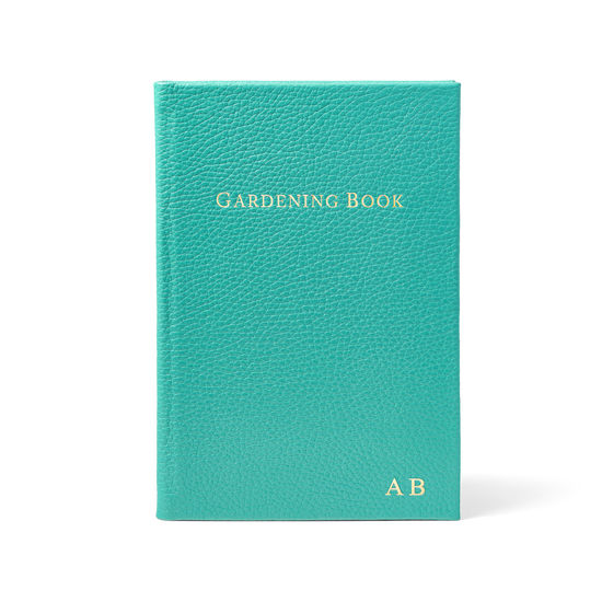 Gardening Book in Chalkhill Blue Pebble from Aspinal of London