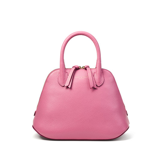 Margot Bag in Tea Rose Pebble from Aspinal of London