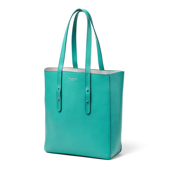 Essential Tote in Chalkhill Blue Pebble from Aspinal of London