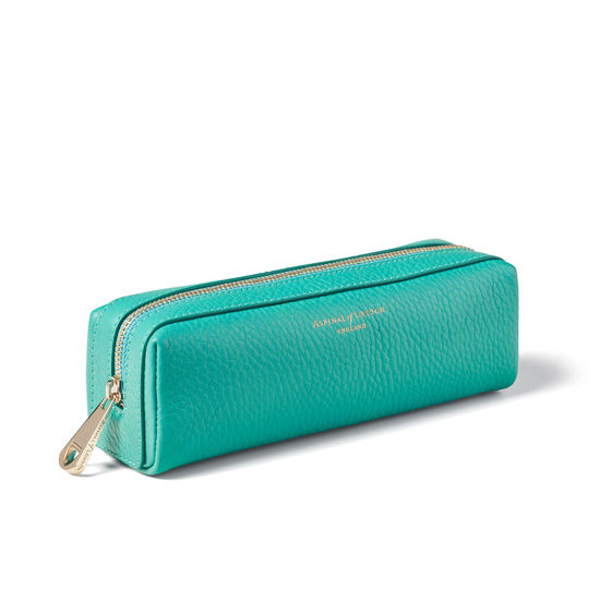 Small London Case in Chalkhill Blue Pebble from Aspinal of London