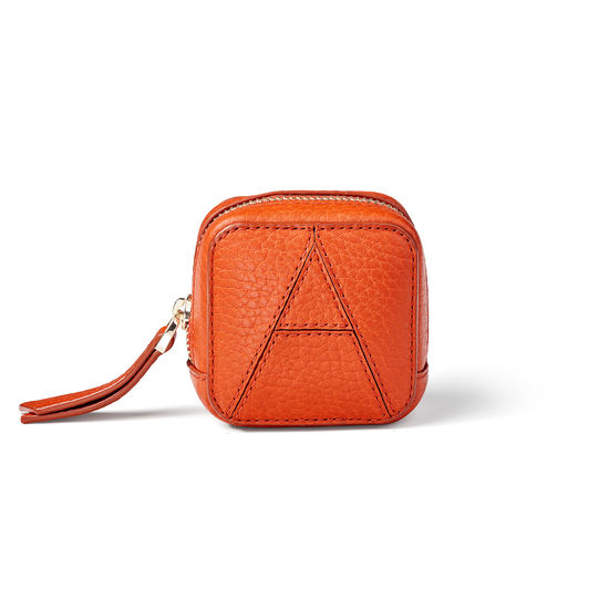 Mini London Case in Marmalade Pebble from Aspinal of London