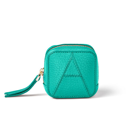 Mini London Case in Chalkhill Blue Pebble from Aspinal of London