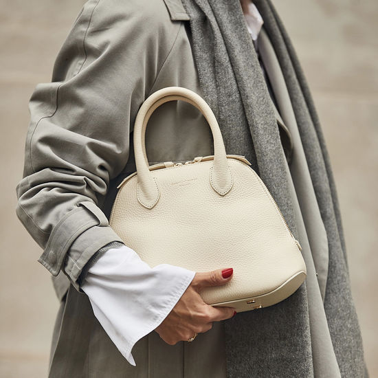 Margot Bag in Smooth Tan from Aspinal of London