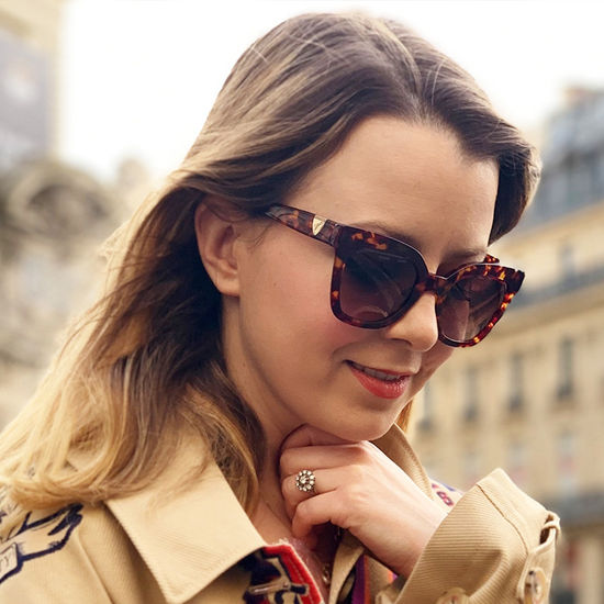 Riviera Sunglasses in Tortoiseshell Acetate from Aspinal of London