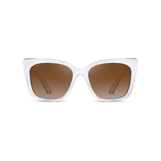 Ladies' Cannes Sunglasses in Crystal Acetate from Aspinal of London