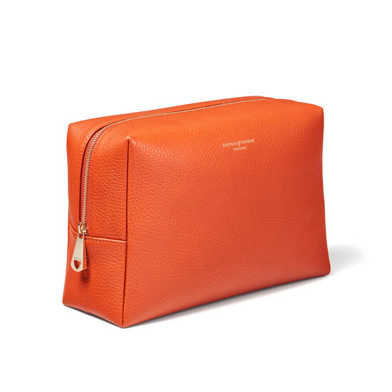 Large London Case in Marmalade Pebble from Aspinal of London