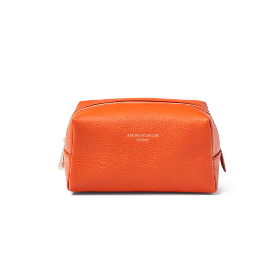 Medium London Case in Marmalade Pebble from Aspinal of London