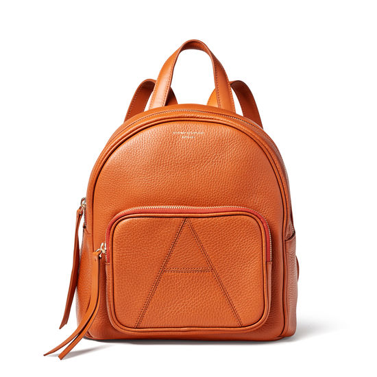 Camera Backpack in Marmalade Pebble from Aspinal of London