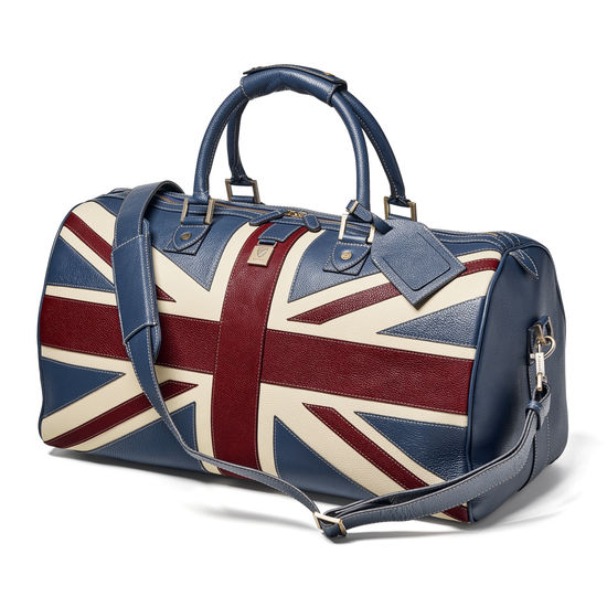 Brit Travel Bag from Aspinal of London