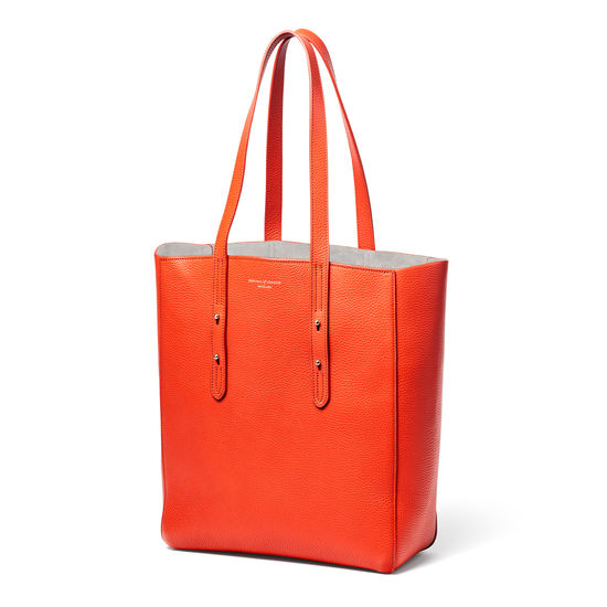 Aspinal Essential Tote in Saffron Pebble from Aspinal of London