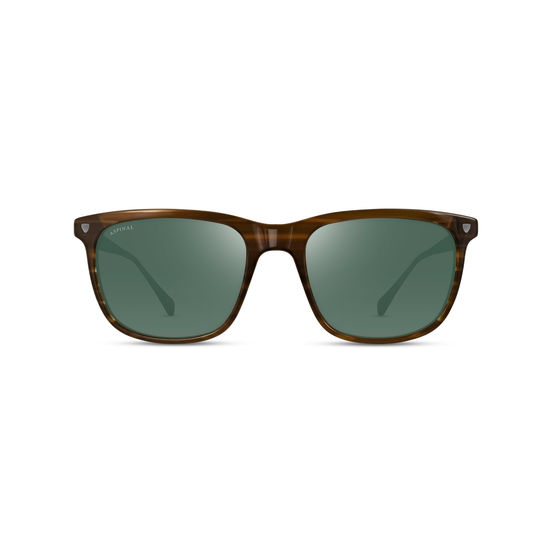 Roma Sunglasses in Tiger Eye Acetate from Aspinal of London