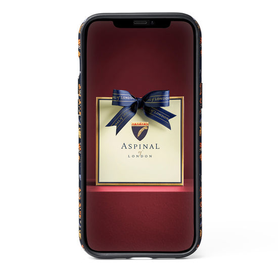 Emily Carter iPhone 12 Pro Max Case - Black British Butterfly from Aspinal of London